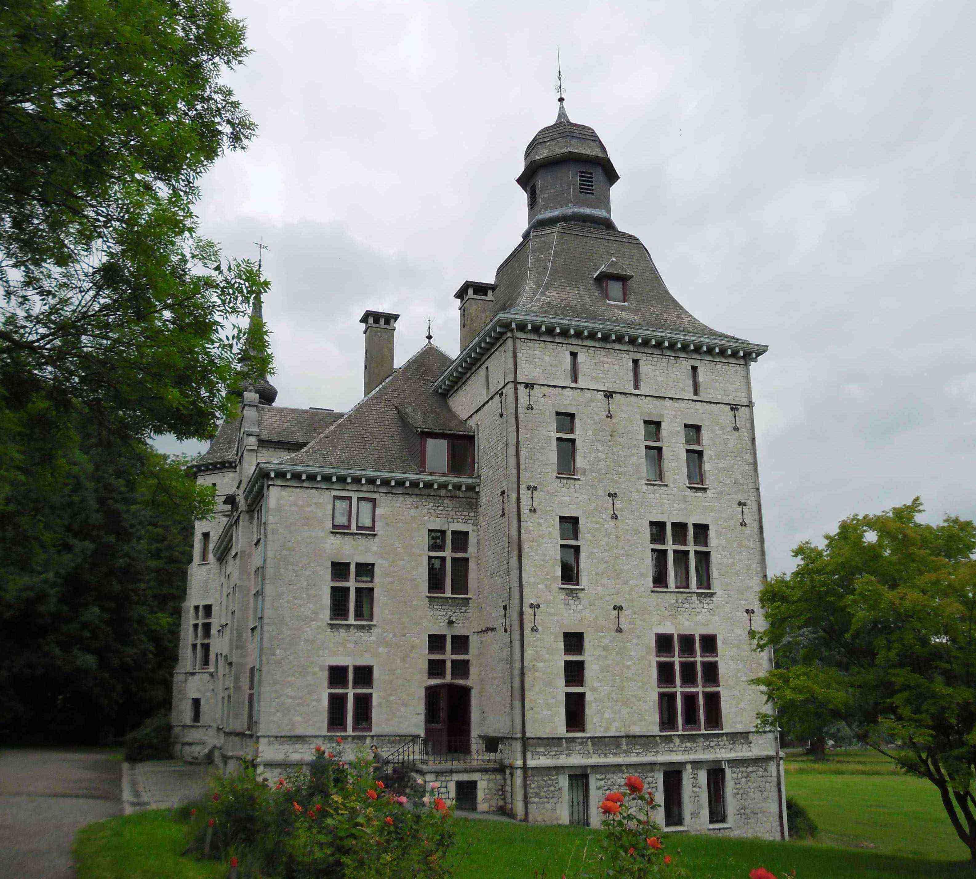 0038 2014 Berneau - Belgien - unser Schloss