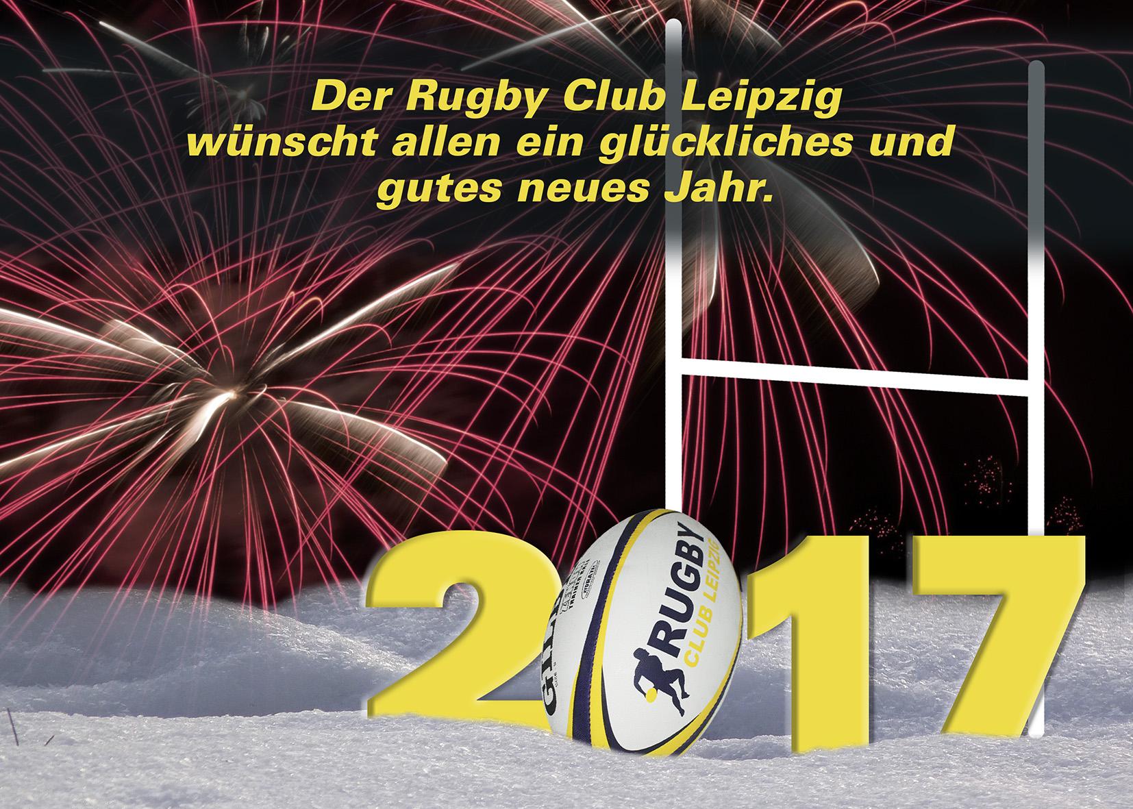 Der RCL wünscht allen ein glückliches und gutes neues Jahr.   Rugby ...
